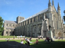 Winchester Cathedral June 2013 for the Ordination of Gill Nobes and Adrian Datta
